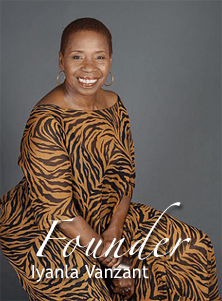 Iyanla Vanzant Founder of Inner Visions Worldwide